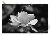 Perfect Bloom Magnolia In White Carry-all Pouch
