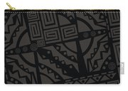 Perfect Imperfections II - Charcoal Infusion Carry-all Pouch