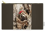 Perfect Pileated Pose Carry-all Pouch