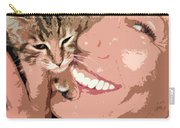 Perfect Smile Carry-all Pouch by Stelios Kleanthous