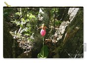 Mashamoquet Pink Lady Slipper Carry-all Pouch