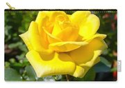 Perfect Yellow Rose Carry-all Pouch