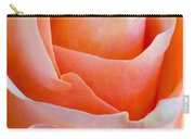 Perfection In A Peach Rose Carry-all Pouch