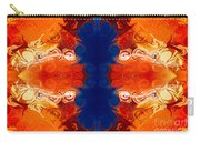 Perfectly Balanced Philosophies Abstract Pattern Art By Omaste Witkowski Carry-all Pouch
