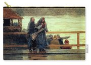 Perils Of The Sea 1881 Carry-all Pouch