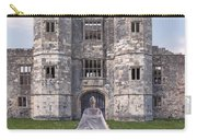 Period Lady In Front Of A Castle Carry-all Pouch