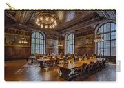 Periodical Room At The New York Public Library Carry-all Pouch