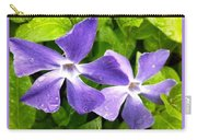 Periwinkle Blue Dew Carry-all Pouch
