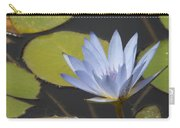 Periwinkle Lily Carry-all Pouch
