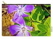 Periwinkles By West Point Inn On Mount Tamalpias-california  Carry-all Pouch
