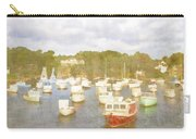 Perkins Cove Lobster Boats Maine Carry-all Pouch