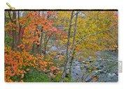 Perkiomen Creek - Perkiomenville Pa - Autumn Foliage Carry-all Pouch
