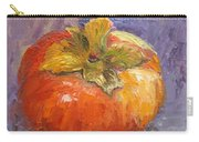 Perky Persimmon Carry-all Pouch