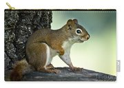 Perky Squirrel Carry-all Pouch