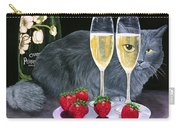 Perrier Jouet Et Le Chat Carry-all Pouch