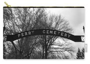 Perry Cemetery Carry-all Pouch