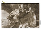 Perseus Cuts Off Medusas Head, 1731 Carry-all Pouch