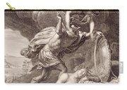 Perseus Cuts Off Medusa's Head Carry-all Pouch by Bernard Picart