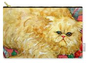 Persian Cat On A Cushion Carry-all Pouch