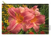 Persian Market Daylily Carry-all Pouch