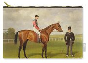 Persimmon Winner Of The 1896 Derby Carry-all Pouch by Emil Adam