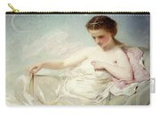Personification Of The Sciences Carry-all Pouch by Charles Chaplin