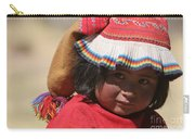 Peruvian Child Carry-all Pouch