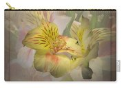 Peruvian Lily Framed Carry-all Pouch