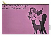Pet Your Cat Carry-all Pouch
