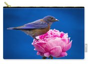 Petal Lips Carry-all Pouch by Jean Noren