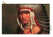 Petalesharro. Generous Chief  Pawnee Carry-all Pouch