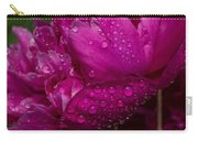 Petals And Drops I Carry-all Pouch