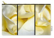 Petals Triptych Carry-all Pouch