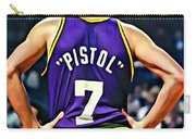 Pete Maravich Carry-all Pouch by Florian Rodarte