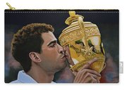 Pete Sampras Carry-all Pouch by Paul Meijering