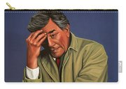 Peter Falk As Columbo Carry-all Pouch by Paul Meijering