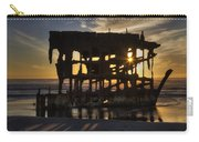 Peter Iredale Shipwreck Sunset Carry-all Pouch