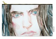 Peter Steele Watercolor Portrait Carry-all Pouch