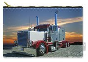 Peterbilt At The Beach  Carry-all Pouch