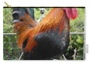 Petey The Old English Game Bantam Rooster Carry-all Pouch