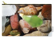 Petoskey Stones L Carry-all Pouch by Michelle Calkins