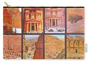 Petra Alive In Petra Jordan Carry-all Pouch