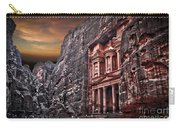 Petra The Treasury Carry-all Pouch by Dan Yeger