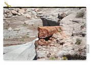 Petrified Tree Trunk Carry-all Pouch