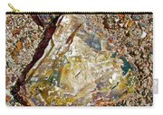 Petrified Wood In Crystal Forest In  Petrified Forest National Park-arizona Carry-all Pouch
