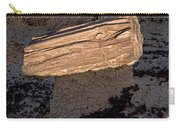 Petrified Wood On A Pedestal Carry-all Pouch