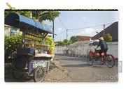 Petrol Stall And Cyclo Taxi In Solo City Indonesia Carry-all Pouch