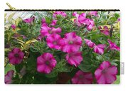 Petunia Basket Carry-all Pouch