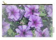 Petunia Patch Carry-all Pouch