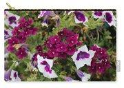 Petunias And Verbena I Carry-all Pouch